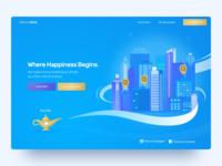 Venue Genie Landing Page