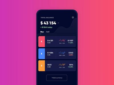 Finance app Delete finance swipe delete ios animation app eleken ux ui