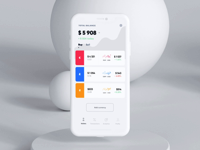 Finance App Transactions ui ux eleken app animation mobile finance transaction send money transfer