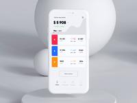 Finance App Transactions