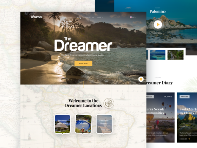 The Dreamer Hostels Homepage