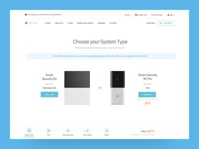Abode Shopping Flow app shopping cart animation flow shopping cart product ecommerce web ux ui