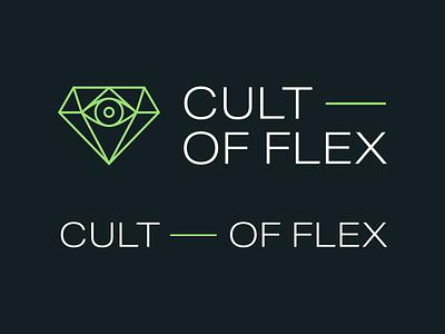 Cult Of Flex Branding pattern typography branding