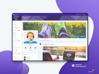 Timeline :  Mega Able Admin  Dashboard