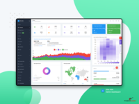 Analytics: Elite Able Admin Dashboard