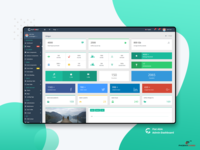 Statics Widgets : Flat Able Admin Dashboard