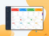 Static Widget : Elite Able Admin Dashboard