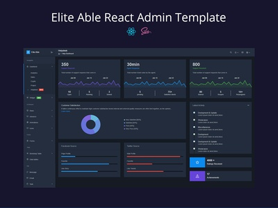 Elite Able React Admin Template