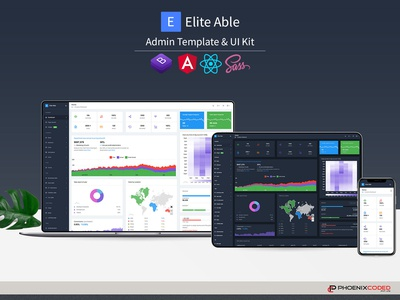 Elite Able Admin Template & UI Kit