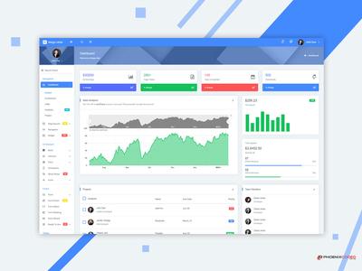 Mega Able Admin Dashboard Template