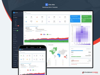 Elite Able - Bootstrap 4 Admin Template