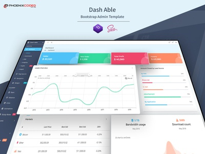 Dash Able Bootstrap Admin Template