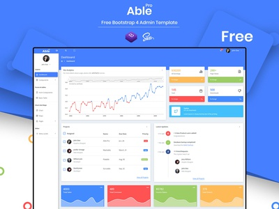 Able Pro Free Bootstrap 4 Admin Template