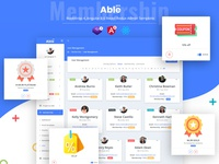 Membership - Able pro 8.0 admin template