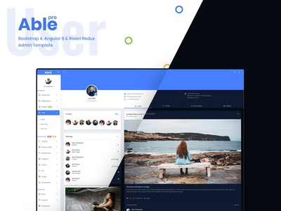 User - Able pro Admin Template