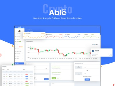 Crypto - Able pro Admin Template