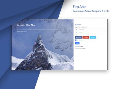 Flex Able - Bootstrap 4 Admin Template & UI Kit