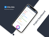 Project Dashboard - Elite Able Admin Template