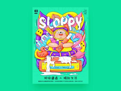 sloppy