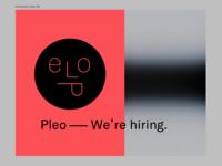 ☻ Pleo – We're hiring.