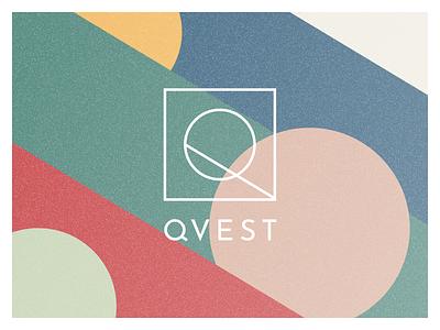 Qvest brand identity logo