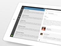 Podio for iPad