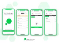 Zero Messenger Redesign