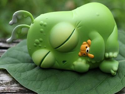 Thimblestump Slumberguppy sculpt vinyl designer toys