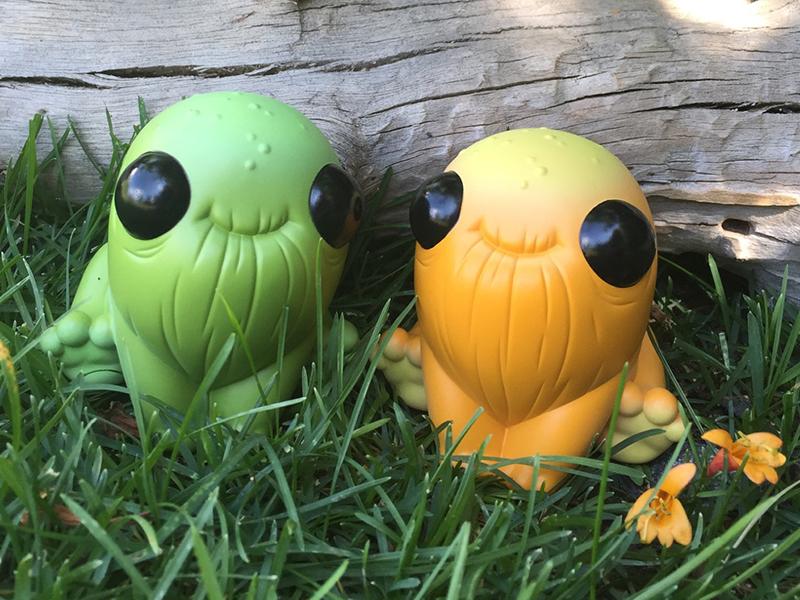 Thimblestump Hollow Designer Toys sculpt vinyl designer toys