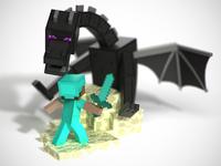 "Minecraft ""Build-It"" Toy Sculpts"