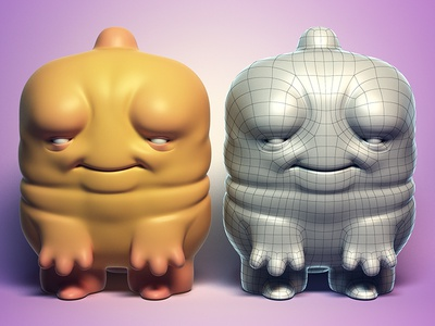 """Cheebs"" Customizable Base Mesh"