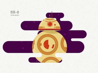 BB-8 sticker bb8 bb-8 starwars fan art graphicdesign vector illustration