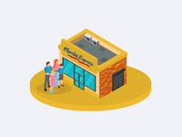 Isometric shop transformations