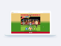 HTML5 soccer game animations for web