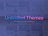Endless website theme showcase
