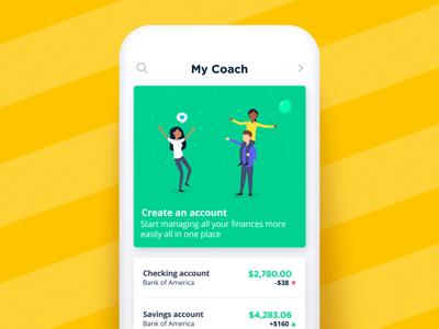 Bankin' - Create an account