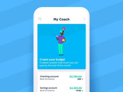 Bankin' - Create your budget balls juggler juggle juggling fake 3d app animations character animation loop characters json animated cards card animation app mobile vector animation svg animation bodymovin lottie after effects