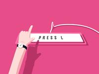 Press L Button
