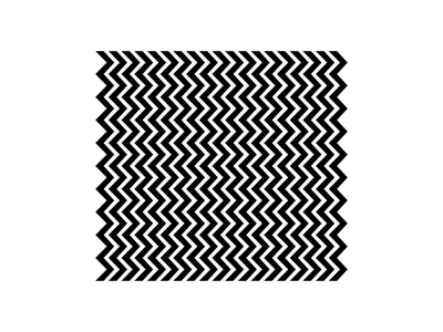 stuck simple pattern design illusion geometric minimal after effects animation motion repeat arrow zigzag white black negative loop pattern