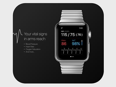 Vital Signs userexperience userinterfacedesign user center design health health care health app app ux ui design
