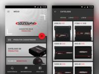 SoundDigital Product Register App