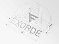 EXORDE Logo Proportions
