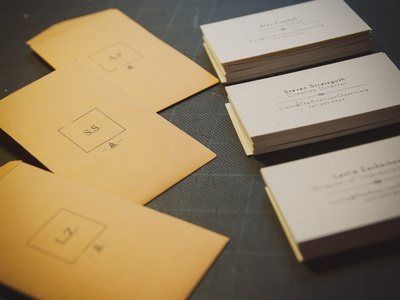 New Business Cards: The American Classic