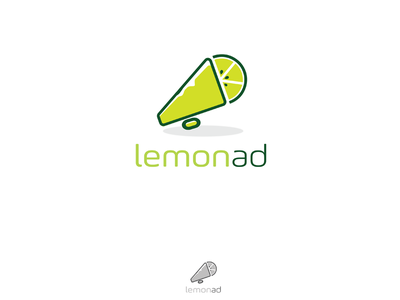 Lemon Ad لوجو شعار ad design identity branding logo
