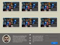 Portfolio site: Web Edition Bottom