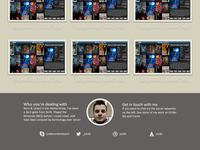Portfolio site: Web Edition Bottom 0.02