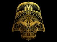 Darth Vader Gold Foil