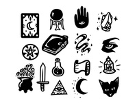 Witchy Icons