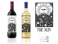 The Sun - Wine Label