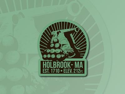Holbrook, MA sticker design hometown challenge sticker mass ma holbrook